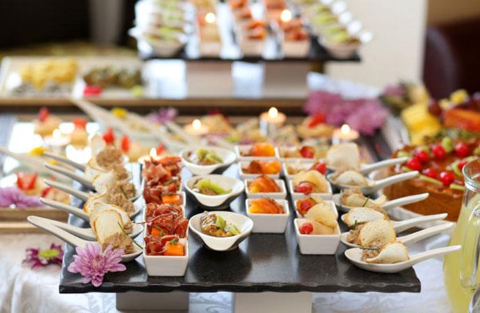 Servizio Catering hotel Mastai Senigallia